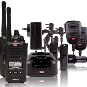 TX6160TP 5 Watt IP67 UHF Handheld Radio w/ Accessories (TWIN PACK)