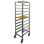 Breakfast Tray Trolley | Stainless Steel