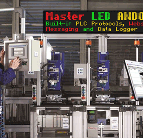 Industrial LED Master Display - Communication has never been so easy
