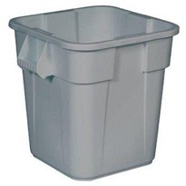 106L Square Plastic Container without Lid | BRUTE®