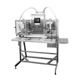 Twin Head Liquid Filling Machine | #300