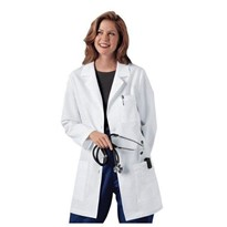 Pure Cotton Lab Coat Woman Lady Medical Doctor