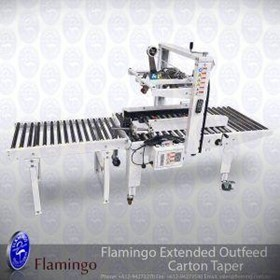 Flamingo Extended Outfeed Carton Taper | EFBT-80E