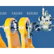 Portable Line Boring Machine by Hofmann Engineering