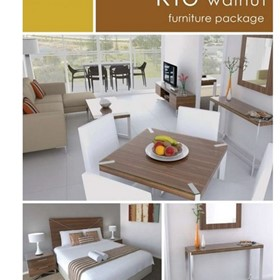 247 Furniture | Hotel Packages | Furniture Package RIO Walnut