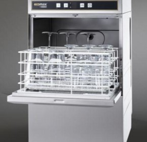 ECOMAX 504 GLASSWASHER 60 RACK/H  -1080 GLASS/H