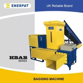 Bagging Baler Machine For Shreded Paper