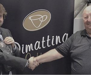 Federico De Paoli – Product Manager/Machine Division for Goglio visiting Dimattina Coffee in Melbourne.
