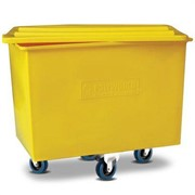 Multi-Purpose Recycled Plastic Laundry Tub Trolley | Small