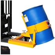 Drum Lifter & Tipper / 364kg Capacity / Forklift Attachment