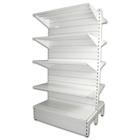 Industrial Shelving | Metal Slatwall