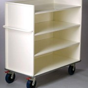 Imprest Enclosed Hospital Trolley | AX 191