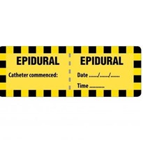 Injectable Medicine Labels - Epidural