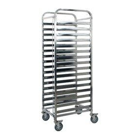 Mobile Gastronorm Trolley 16 Tray | KSS