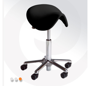 Hospital Stool with Five Wheels | Samba 400 | Vela