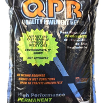 QPR Bagged Asphalt for Permanent Pavement Repair