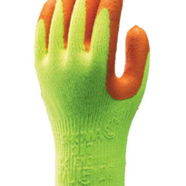 Showa Hi-Vis Natural Rubber Work Glove