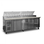 AG 4 Saladette Fridge with GN Trays