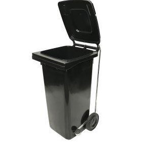 120 Litre Wheelie Bin with Handsfree Lid Lifter