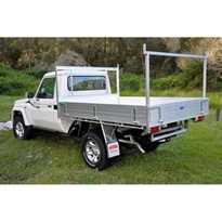 Alloy Ute Trays | Suits 78 Series Landcruiser