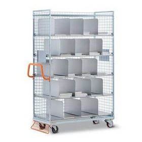 Order Picking Trolley | Bookshelves Sorting