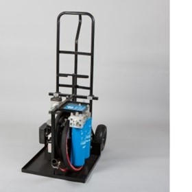 Portable Oil Filtration and Flushing Trolley Cart