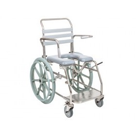Juvo Self Propelled Shower Commode - 2/JH3046 - (SWL 200kg)