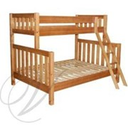 Fraser Wooden Bunk Bed - Single over Double