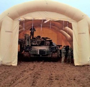 Overview of Inflatable Shelters, Booths, Warehouses and other Temporary Pop-Up Structures