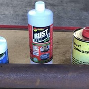 Rust solutions rust remover liquid soak