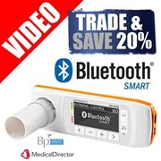 Spirobank 2 Smart | Bluetooth for Apple iPad | 60 Disposable Turbines