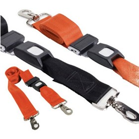 Restraint Strap | 150cm with Swivel Clips & Auto Buckles | Rescuer