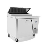 Atosa Single Door Pizza Prep Table Refrigerator