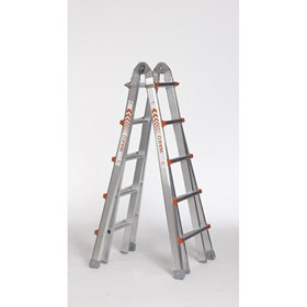 Aluminium Telescopic Access Ladder 1.57m - 5.30m | Waku