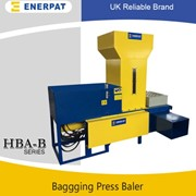 Rice Husk Bagging  Baler Machine