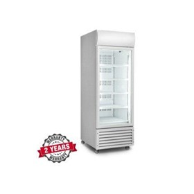 Display Upright Single Glass Door Freezer