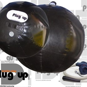 Inflatable Pipe Plugs | The Plug Up Range