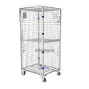 4 Sided Security Roll Cage Trolley