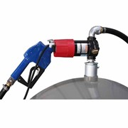 12V Diesel Drum Pump Kit with Manual Nozzle - 40LPM