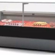 Square Butcher Display, Meat Display GLTVZK25