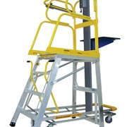 Stockmaster Lift Truk  - Manual Order Picking Ladder