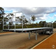 Flat Top Extendable Trailer