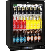 Black Commercial Glass Door Bar Fridge|SG1R-B