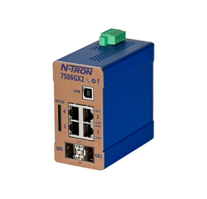 Industrial Ethernet Switch | Red Lion's N-Tron® 7506GX