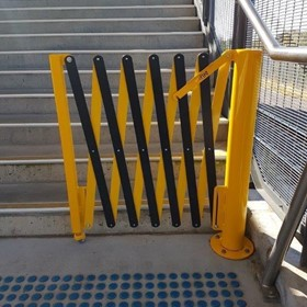Verge Rotating Expandable Safety Barriers - GV523