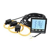 UPM309RGW | Panel Mount 3 Phase Power Meter with Rogowski Coils