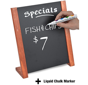 Display Easels & Artist Easels | A4 Blackboard Sign