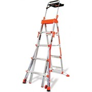 Select Step Adjustable Step Ladder 1.8m - 3.0m | LITTLE GIANT