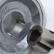 Aluminum V-Belt Pulley | Taper Lock Double Groove B Section