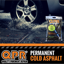 Asphalt and Bitumen surfaces can now be repaired with QPR DIY